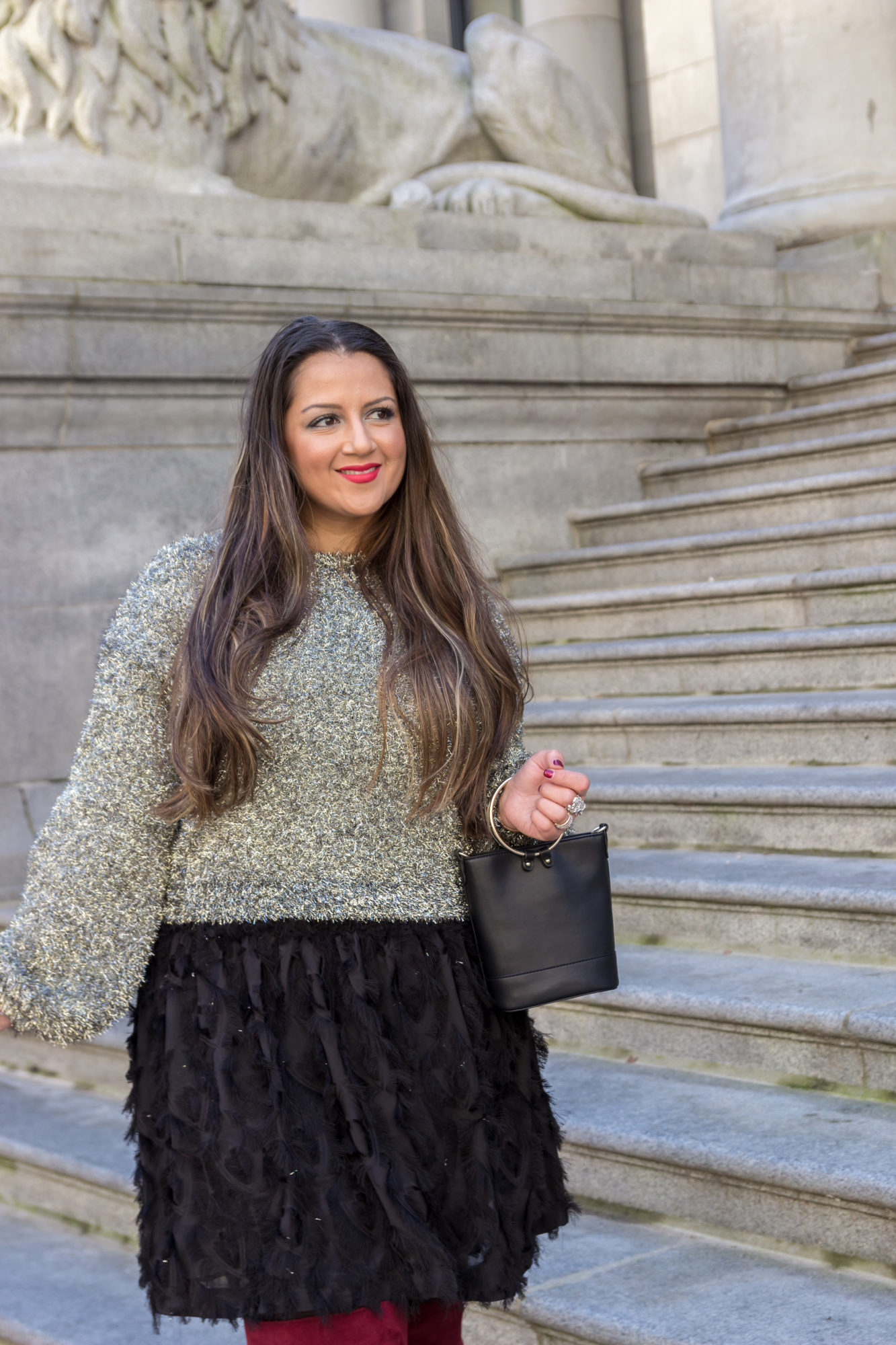 Perfect NYE Outfit by popular Seattle blogger Gracefully Glam