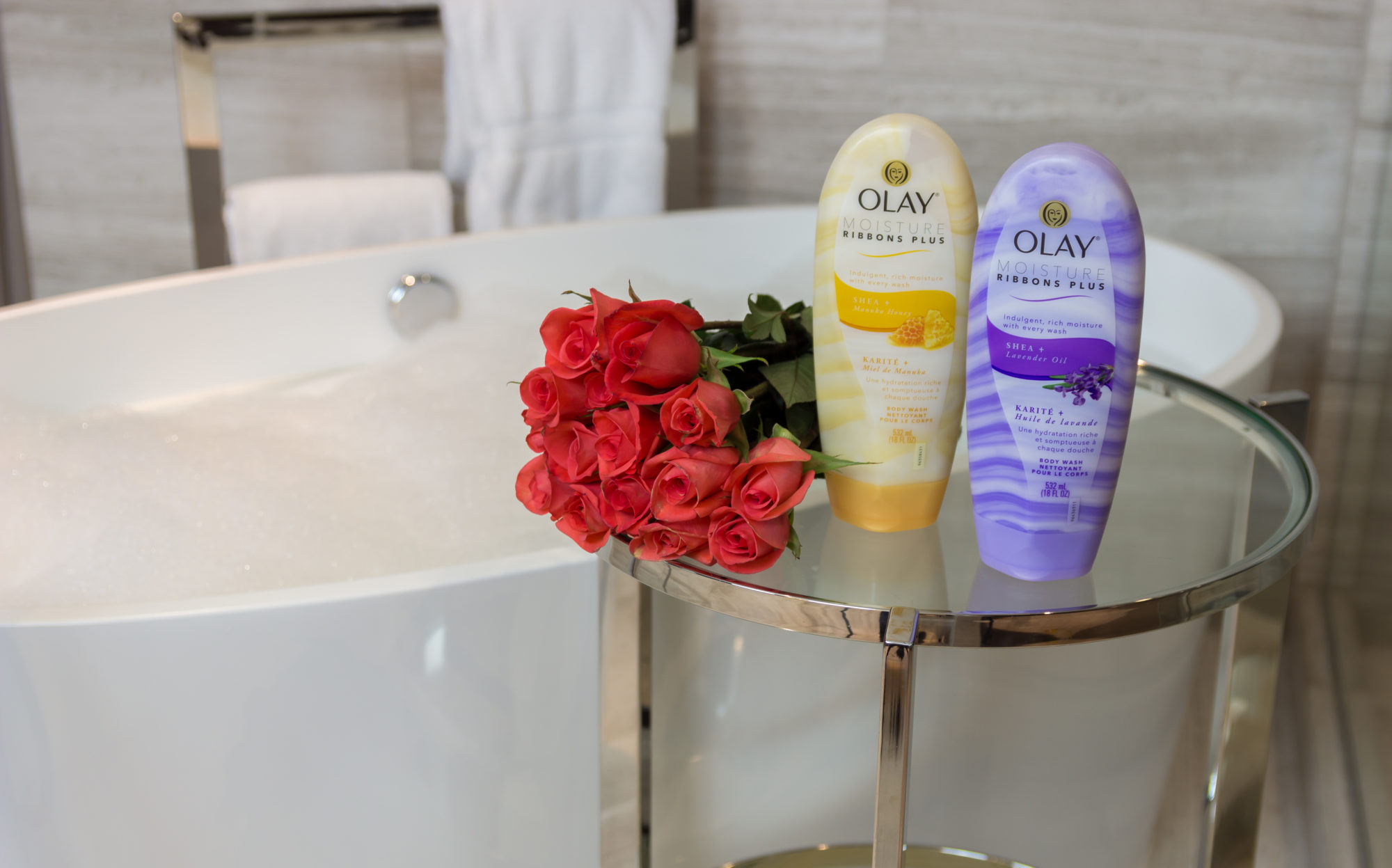 Olay Moisture Ribbon Plus - Winter Skincare: Overcome the harsh effects of winter with Olay Moisture Ribbon Plus by Seattle style blogger Gracefully Glam