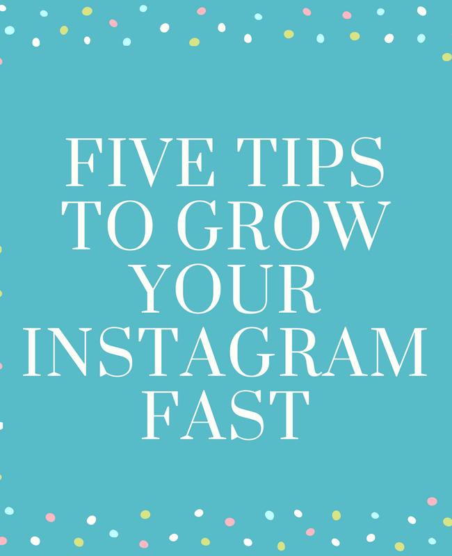 Five Ways To Grow Your Instagram