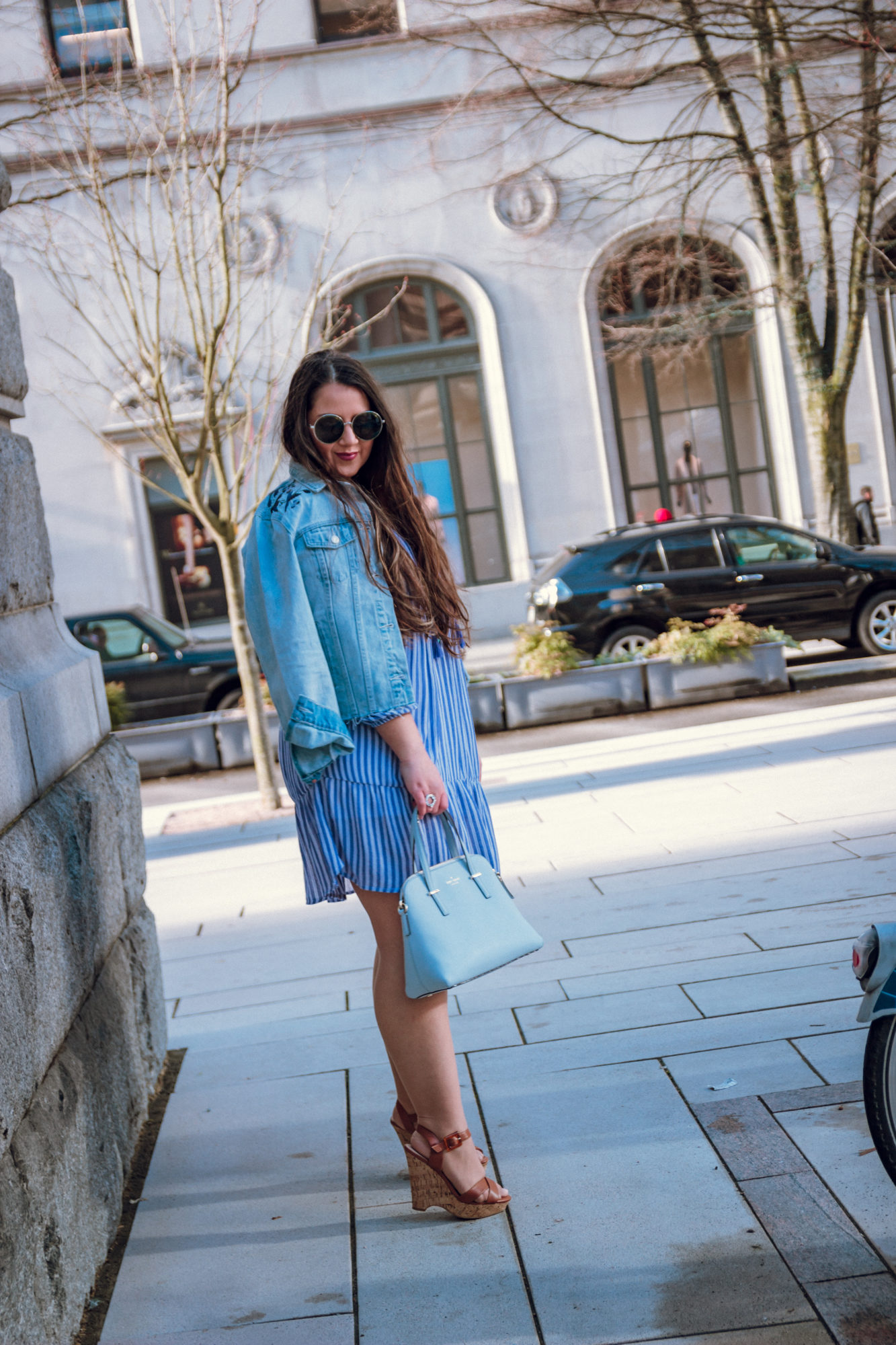 Monday Blues | Spring Layering