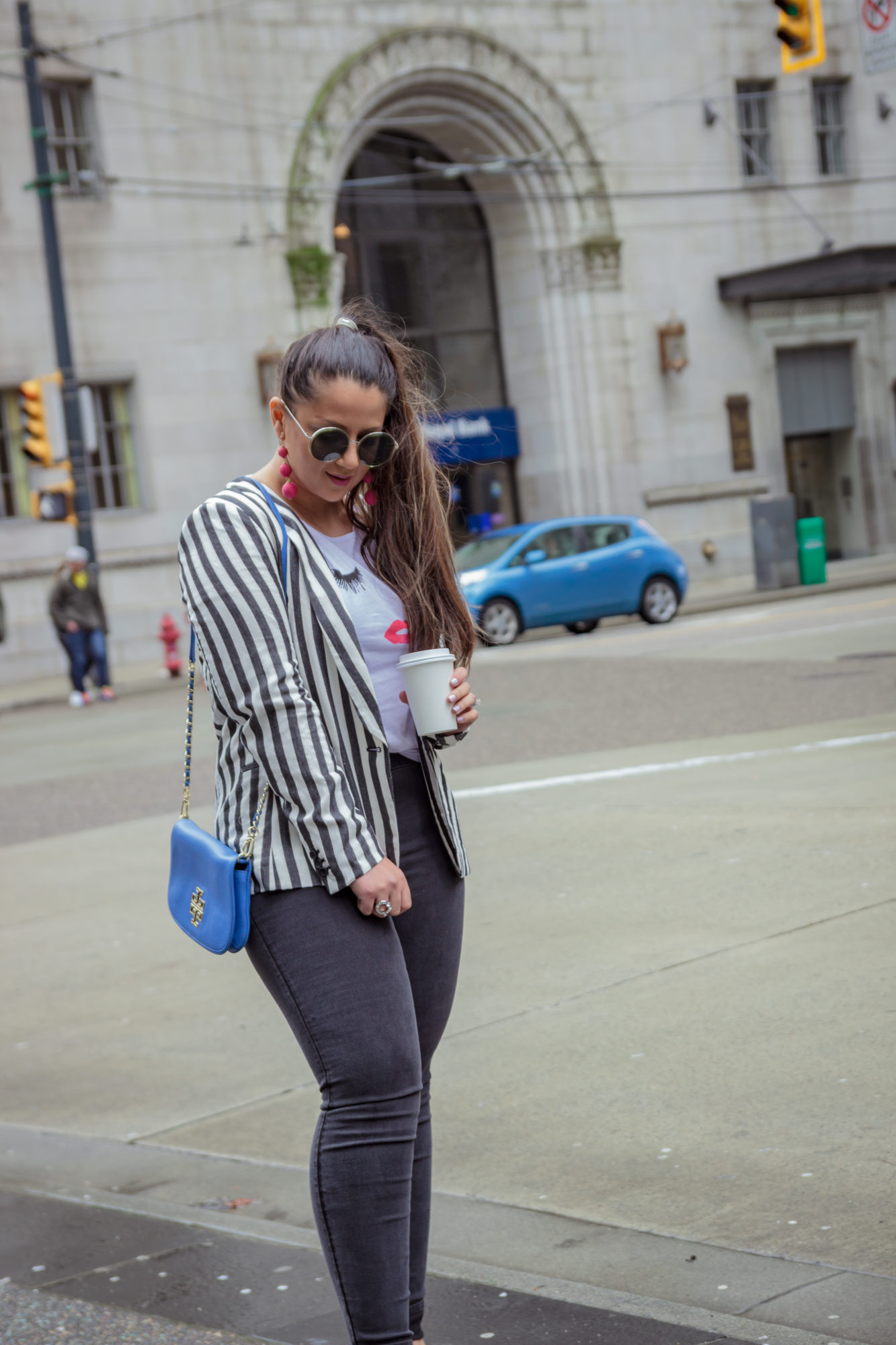 Chic Striped Blazer | From work to Play