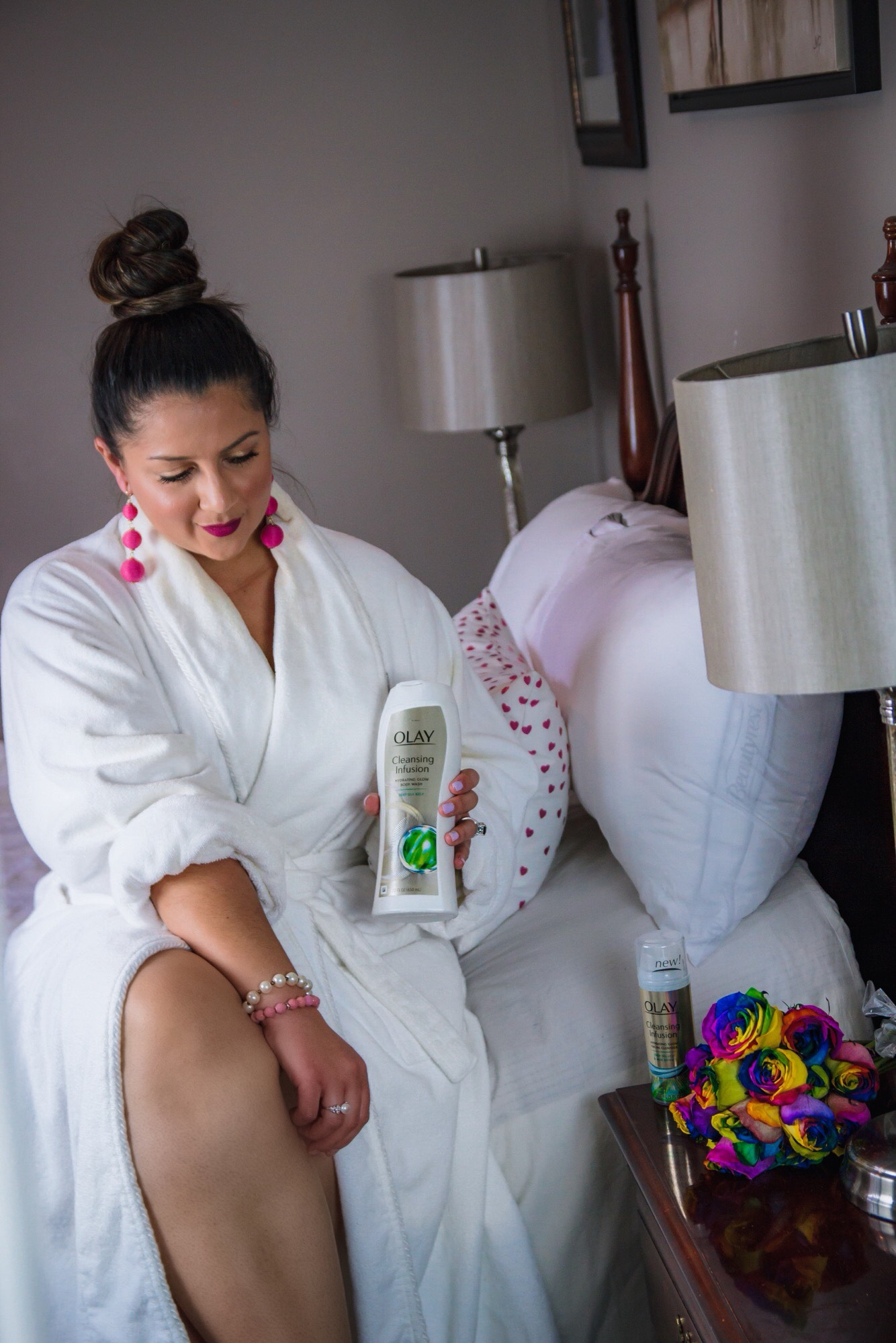 My #GlowUp Journey with Olay cleansing Infusions
