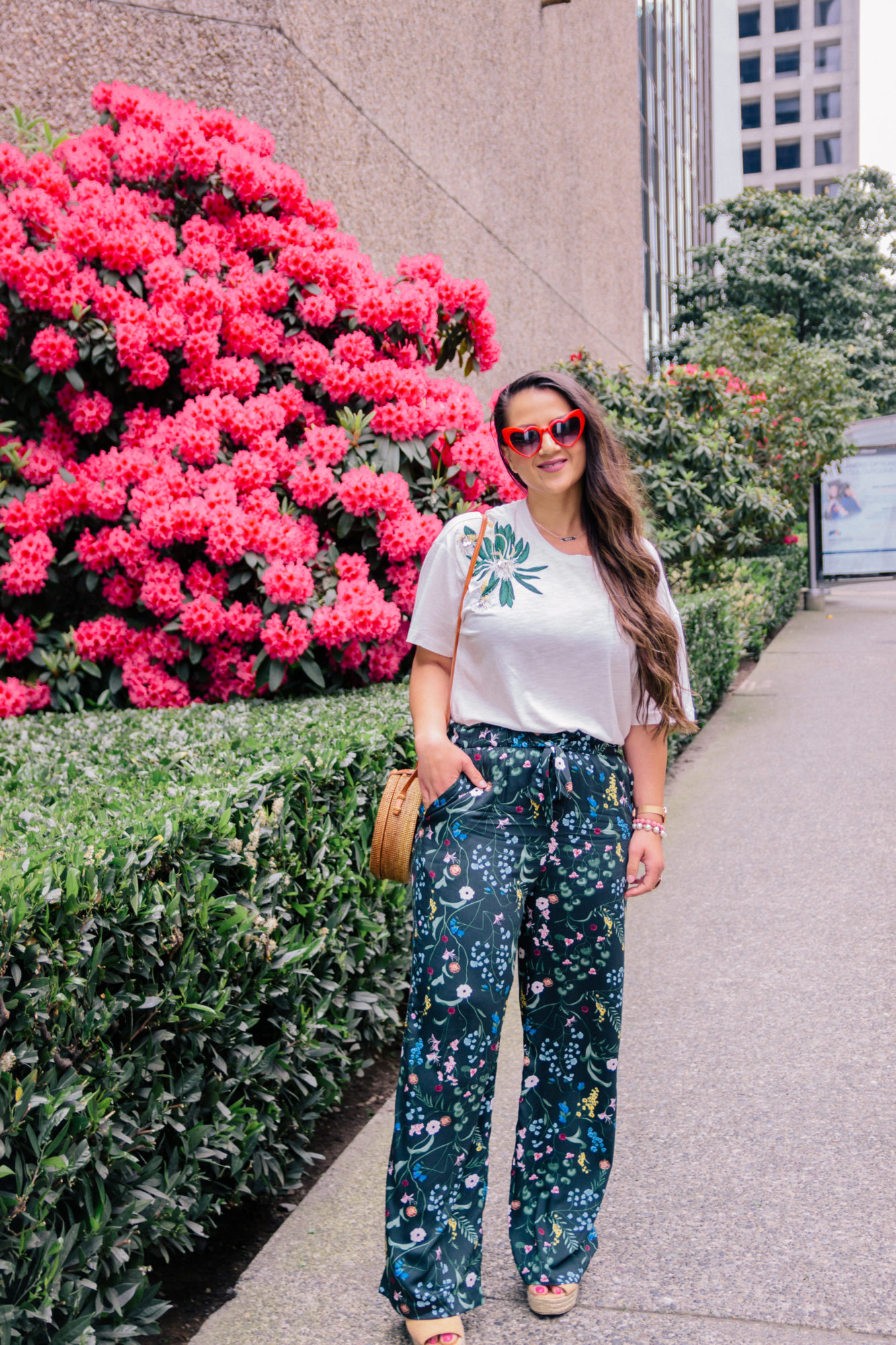 All about the floral pants