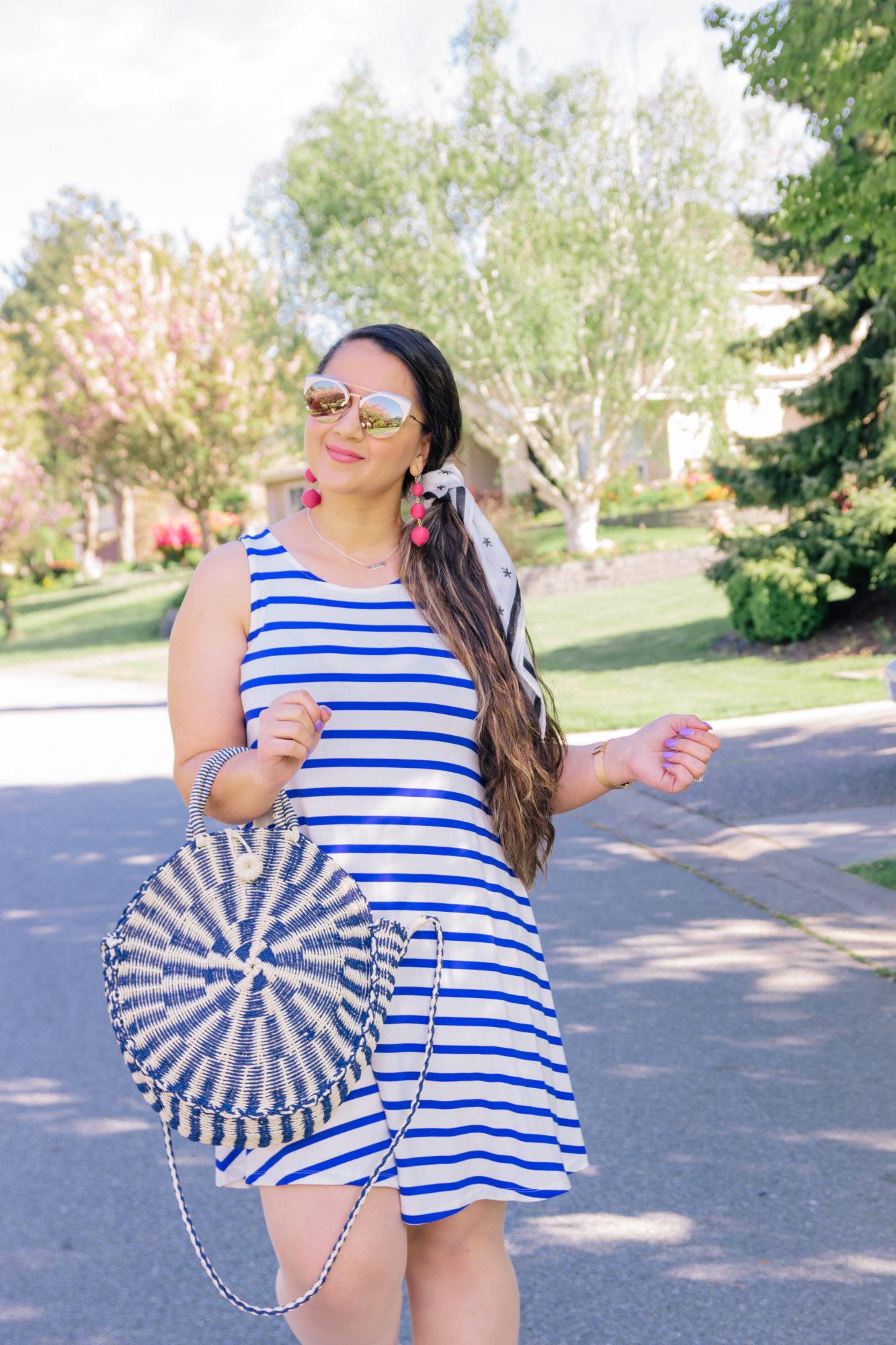 One Spring Dress three Ways