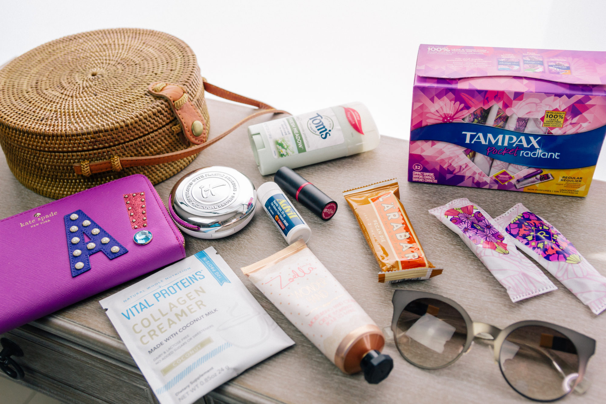 What's in my bag with Tampax Radiant