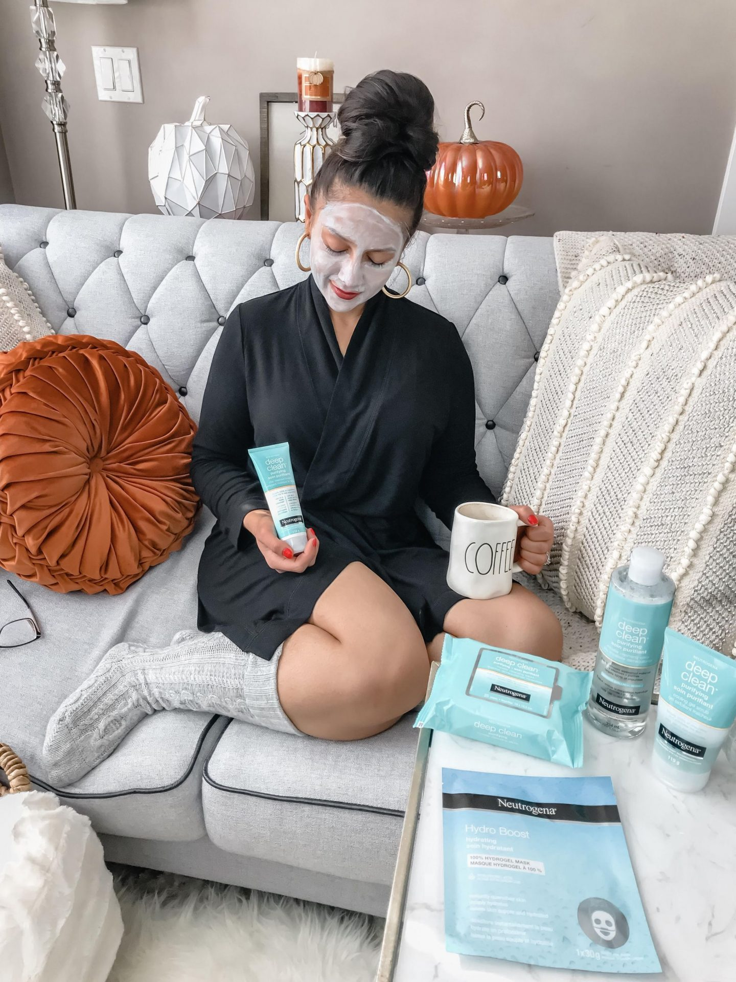 Fall/Winter Skincare Routine with Neutrogena Canada