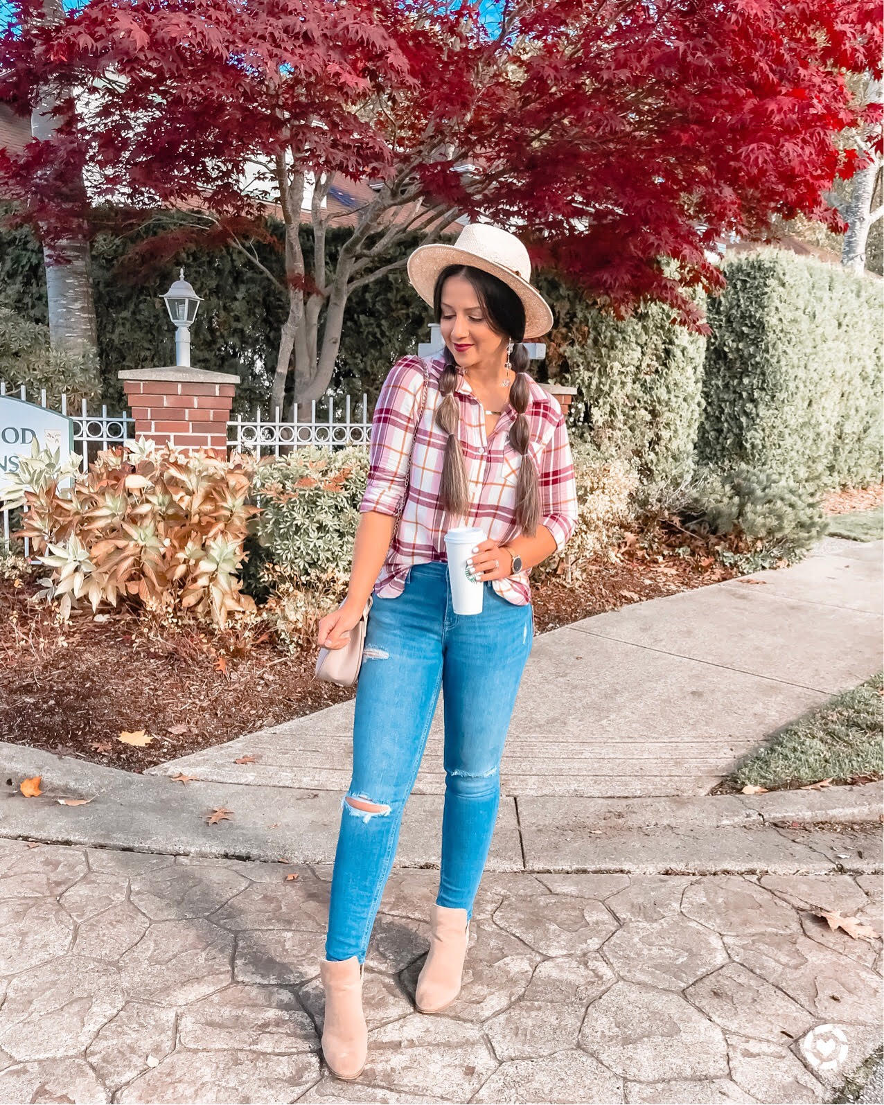 Five Plaid Items To Buy For Your Fall Closet