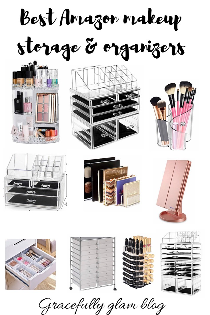 The Best Makeup Storage From Amazon