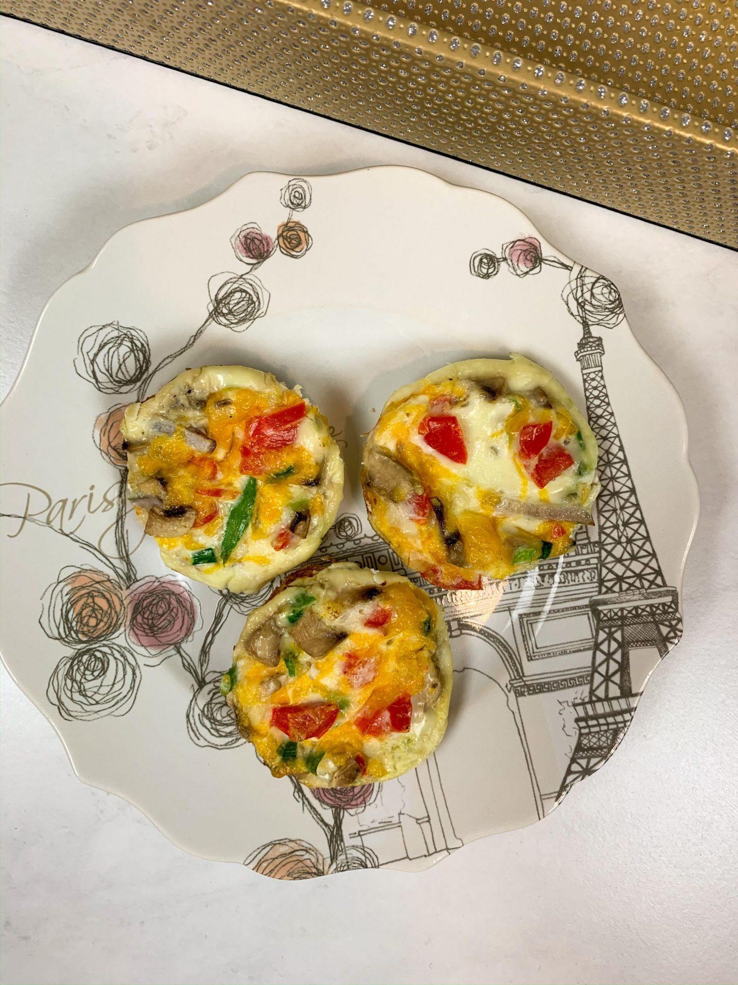 Loaded Egg Bites