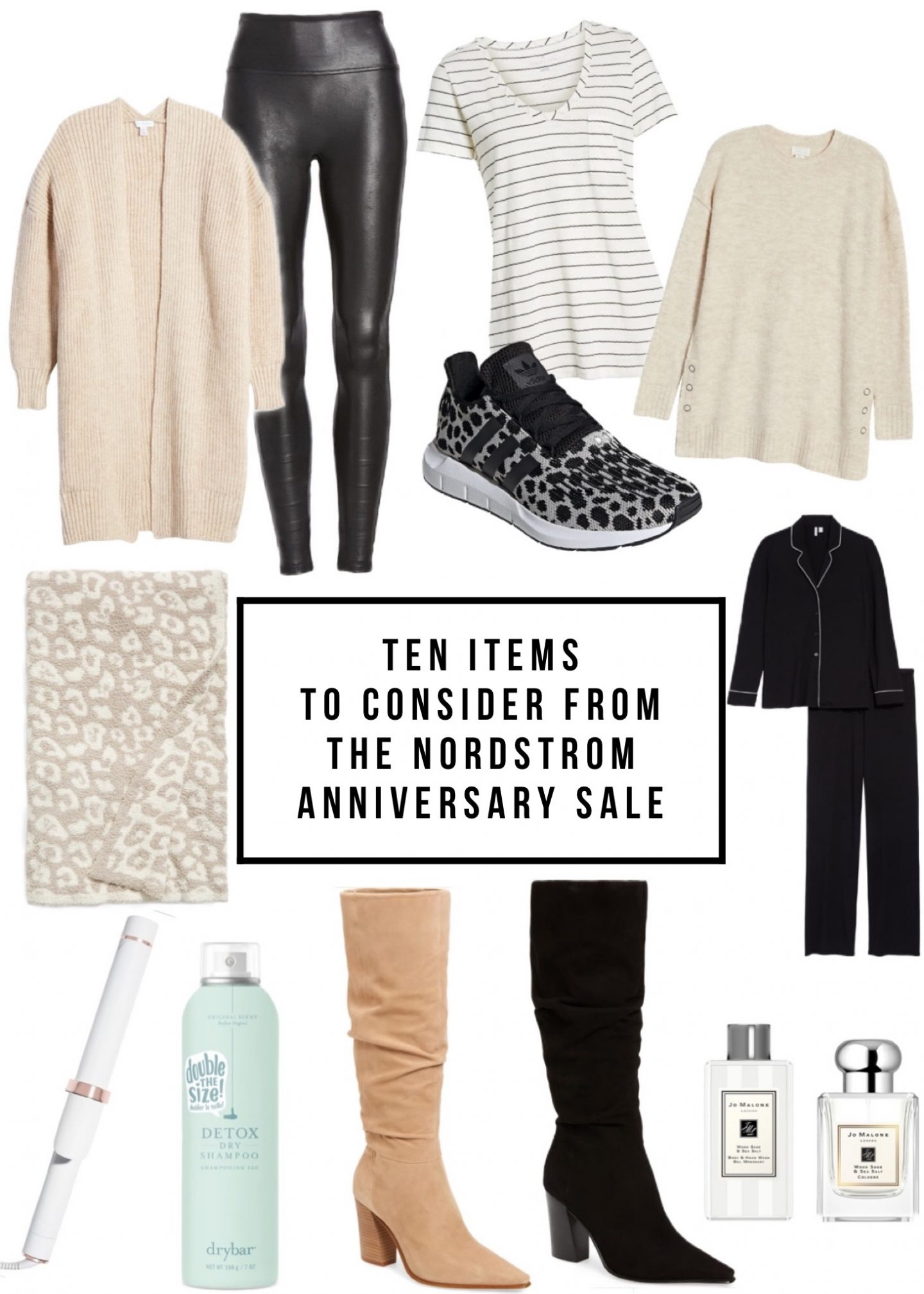 Ten Items To Consider From The Nordstrom Anniversary Sale 2020