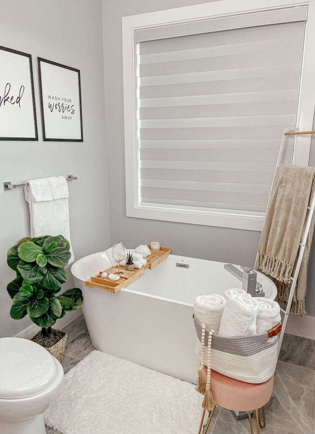 Amazon Master Bathroom Organization and Decor