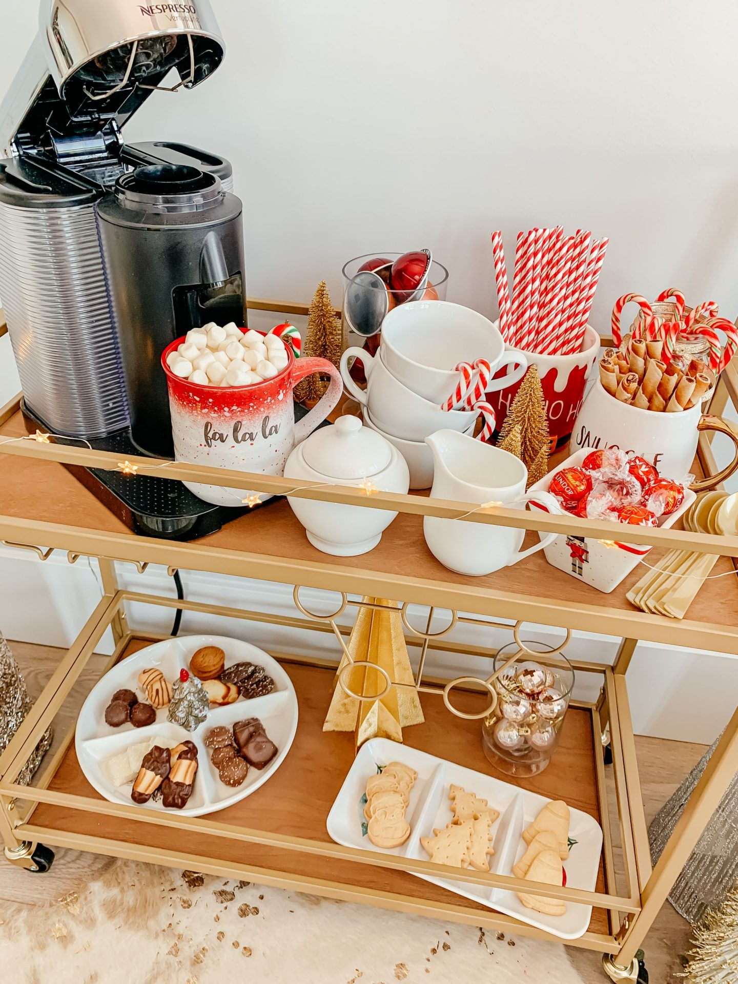 How To Set Up A Coffee Bar For Christmas