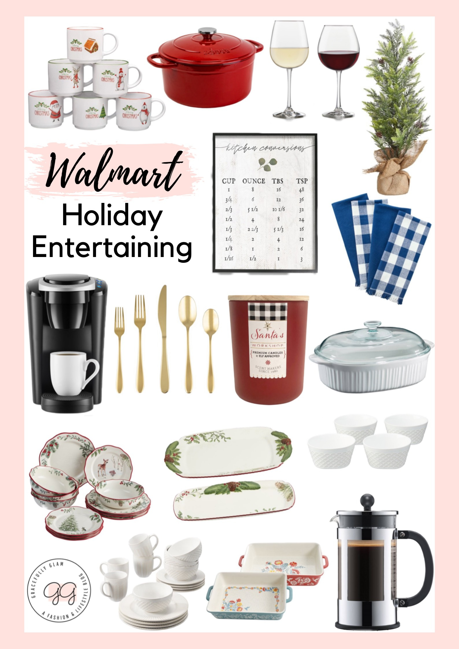Walmart Holiday Entertaining Must Haves