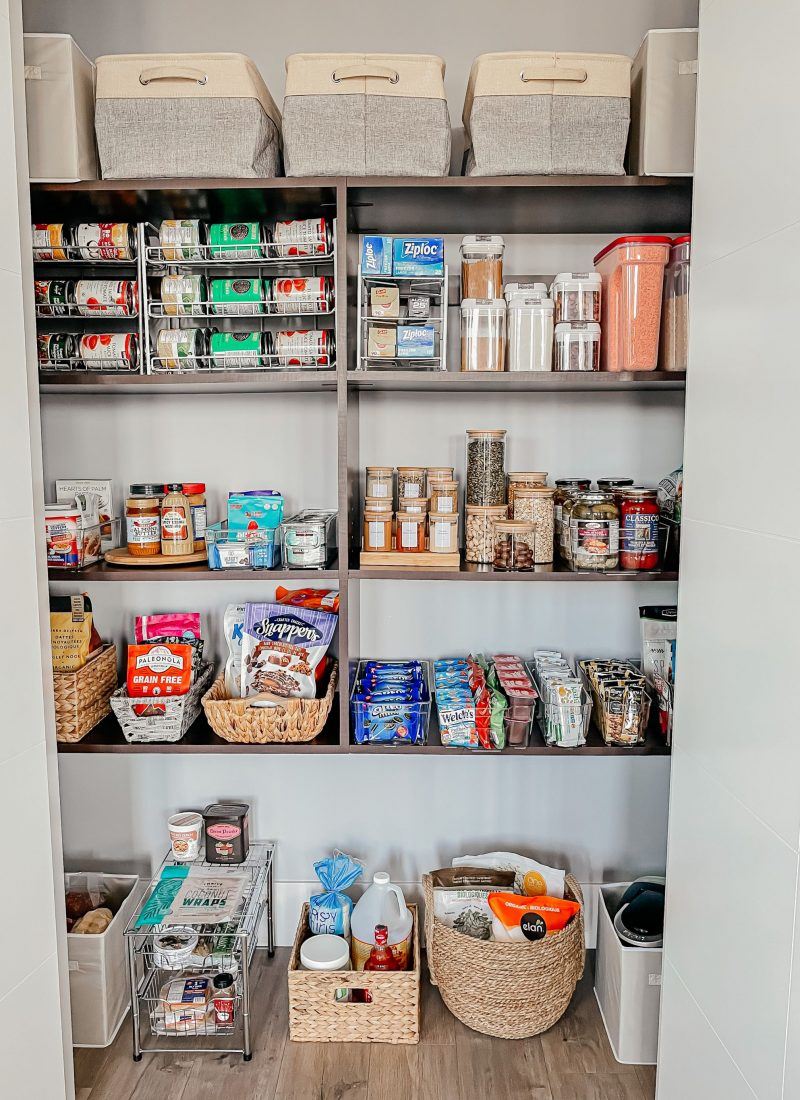 Pantry Organization From Amazon