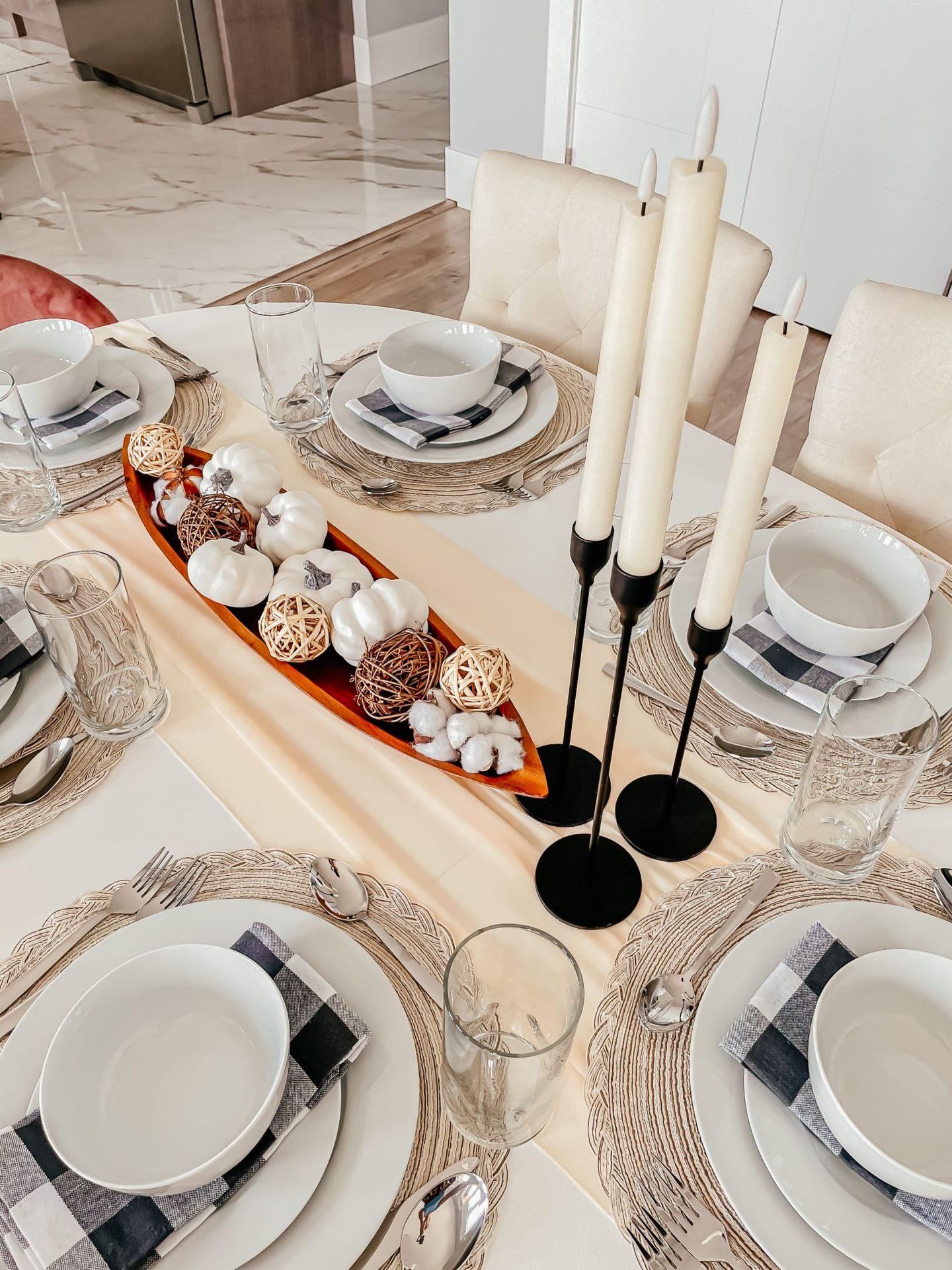A Classic Fall Tablescape